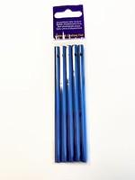 Windgong buisjes H&C Fun 11607-1103 Blauw set 5 buisjes 11cm