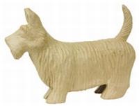 Decopatch XLS070 Papier-mache Schotse Terrier extra groot