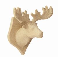 Decopatch NO018O papier-mache trofee Eland 17cm 17x15,5x12cm