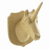 Decopatch SA180O papier-mache trofee Eenhoorn klein
