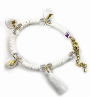 DIY Katsuki Mix bracelet set H&C12415-8010 White
