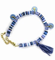 DIY Katsuki Mix bracelet set H&C12415-8005 Blue