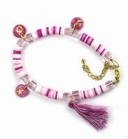 DIY Katsuki Mix bracelet set 12415-8003 Pink complete set
