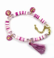 DIY Katsuki Mix bracelet set H&C12415-8003 Pink