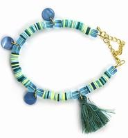 DIY Katsuki Mix bracelet set H&C12415-8002 Turquoise
