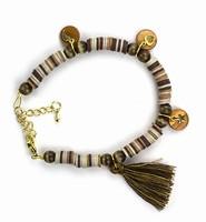 DIY Katsuki Mix bracelet set 12415-8007 Brown complete set