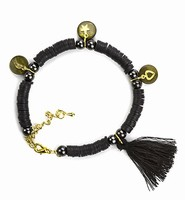 DIY Katsuki Mix bracelet set H&C12415-8009 Black