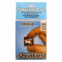 Krimpfolie Zwart Shrink Art 6 kleine vellen art. ZMT013-B A6 10x13cm
