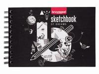 Bruynzeel schetsboek A5 met spiraal 60299001
