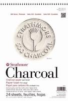 Strathmore tekenblok Charcoal 100% katoen 5601 24vel/95grs