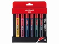 Amsterdam Acrylic Marker set 17519002 basisset