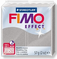 Fimo Soft effect Parelmoer 817 Zilver