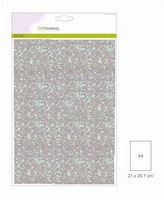 Glitterpapier 5vel/A4/120grams CE001290_0110 Babyblauw