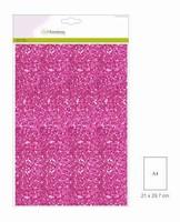 Glitterpapier 5vel/A4/120grams CE001290_0135 Cyclaam