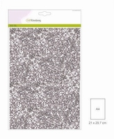 Glitterpapier 5vel/A4/120grams CE001290_0165 Zilver