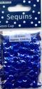 Pailletten 6mm facon Metallic Blauw art. 12212-1207 12 gram