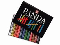 Talens Panda Oliepastel set 12 kleuren 400C12-95830012