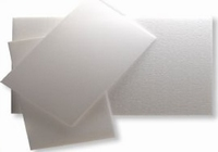 Styrofoam schuimplaat 5mm dik, set 5 stuks 33x21cm