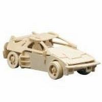 Pebaro houten bouwpakket PB0865/5 Italiaanse sportwagen 25x11cm