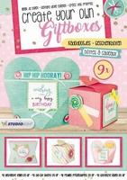 Cadeaudoosjes Die cut blocs A4 GIFTBOXESSL02 A4/9 giftboxes