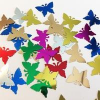 Confetti H&C12421-2110 Vlindertjes ca. 10mm ca.10gram
