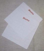 Crea Basics DH840041 Memo Blok 7x7cm