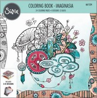 Sizzix Coloring Book 661534 Imaginasia, Kaleyn Lizardi