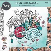 Sizzix Coloring Book 661534 Imaginasia, Kaleyn Lizardi