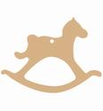 Dutch Doobadoo 461.703.271 MDF Hobbelpaard 4 stuks 10 cm