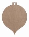 Dutch Doobadoo 461.703.204 MDF Kerstbal middel 22x17,6x0,3cm