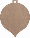 Dutch Doobadoo 461.703.203 MDF Kerstbal groot 25x20x0,3cm
