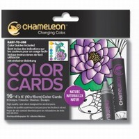 Chameleon CC0101 embossed Color Cards Nature