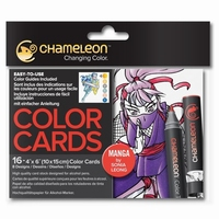 Chameleon CC0109 embossed Color Cards Manga