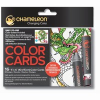 Chameleon CC0104 embossed Color Cards Tattoo