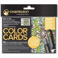 Chameleon CC0106 embossed Color Cards Mirror images