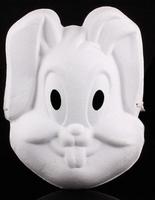 Masker Witte geperste papierpulp DH002 Bunny