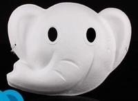 Masker Witte geperste papierpulp DH003 Olifant
