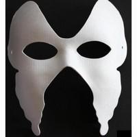 Masker Witte geperste papierpulp DH013 Venetian Vlinder