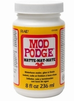Mod Podge Classic Mat 8oz.  CS11301 236ml/8oz