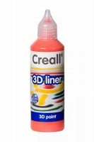 Creall 3D paint liner 04 Rood 80ml