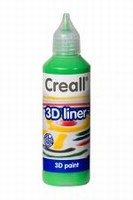 Creall 3D paint liner 09 Groen 80ml