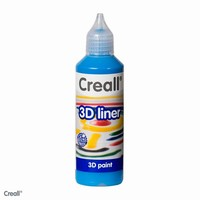 Creall 3D paint liner 07 Blauw 80ml