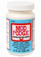 Mod Podge Paper matt 8oz. CS11236 236ml/8oz