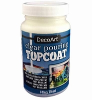 DecoArt Clear Pouring Top Coat DS134-64 236ml/8oz