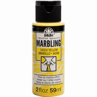 FolkArt Marbling paint Yellow 16924 59ml/2oz