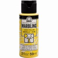 FolkArt Marbling paint Yellow 16924