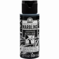 FolkArt Marbling paint Black 16928 59ml/2oz