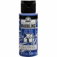 FolkArt Marbling paint Blue 16927 59ml/2oz