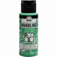 FolkArt Marbling paint Green 16931 59ml/2oz