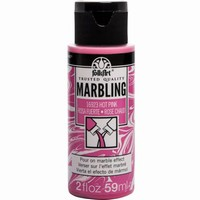 FolkArt Marbling paint Hot Pink 16923 59ml/2oz